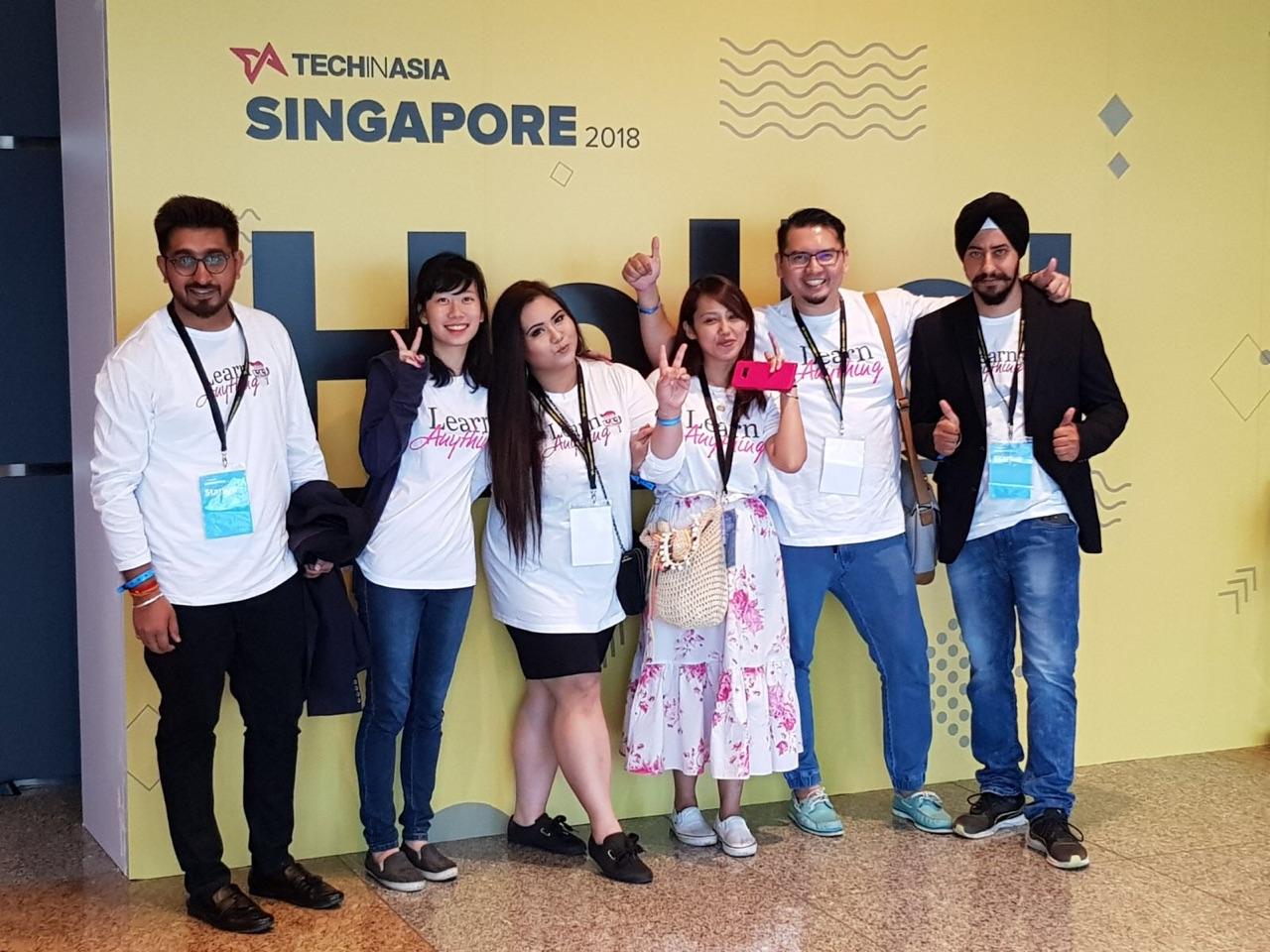 Client's Visit Singapore